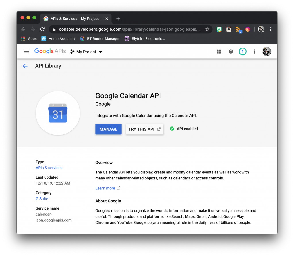 Home Assistant Google Calendar 8 Step Guide With Images Siytek